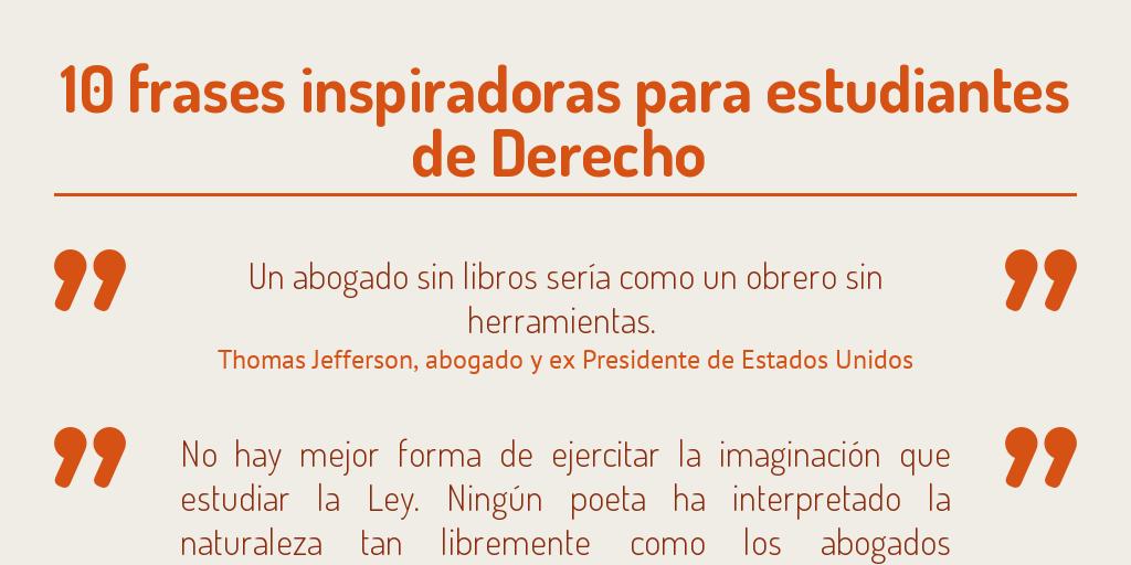Frases Para Estudiantes De Derecho By Federico Garateguy