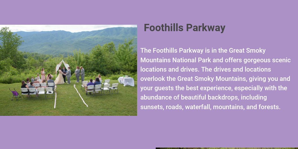 Top Locations to Hold Weddings in the Smoky Mountains - Infogram
