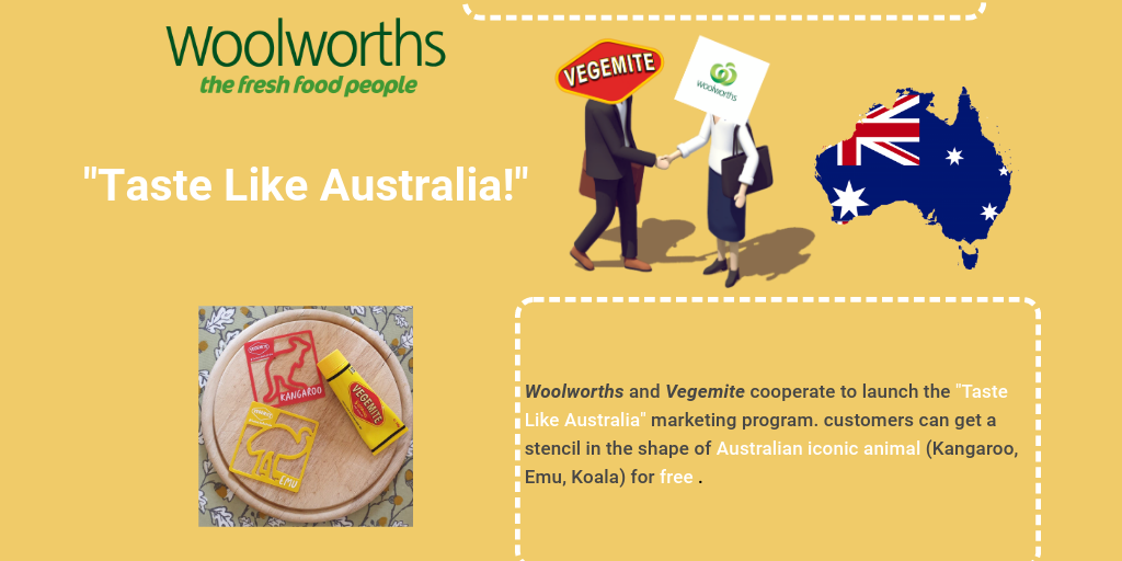 Vegemite And Woolworths Infographic By Yingxiang Zhang Infogram