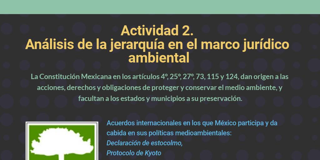 Actividad 2 Análisis De La Jerarquía En El Marco Jurídico