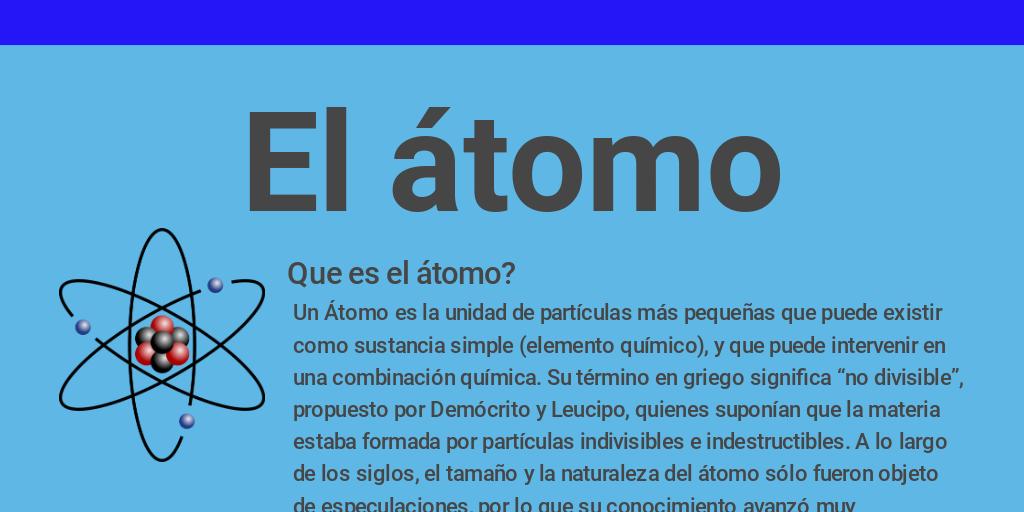 El Atomo By Alex Quiroz Infogram