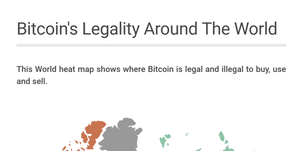 bitcoin legality map