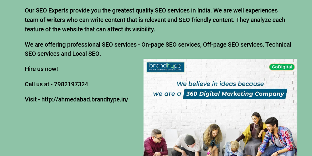 Best SEO Company in Ahmedabad - Infogram