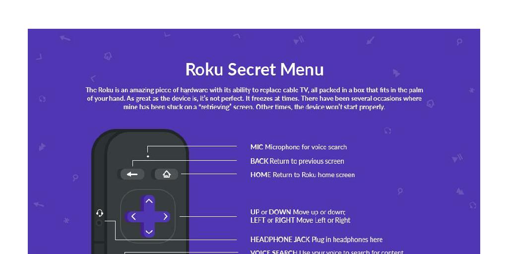Tips and Tricks for Access Your Roku Secret Menu by Roku
