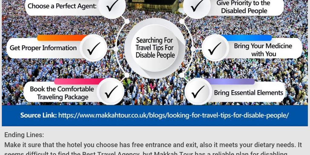 Searching For Travel Tips For Disable People - Infogram