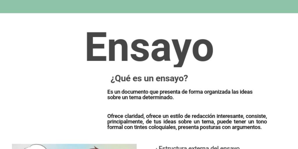 Ensayo By Gonzalo Villegas Islas Infogram